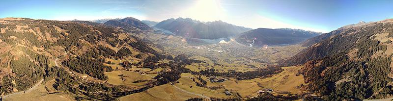 360° Panorama Lienzer Talkessel