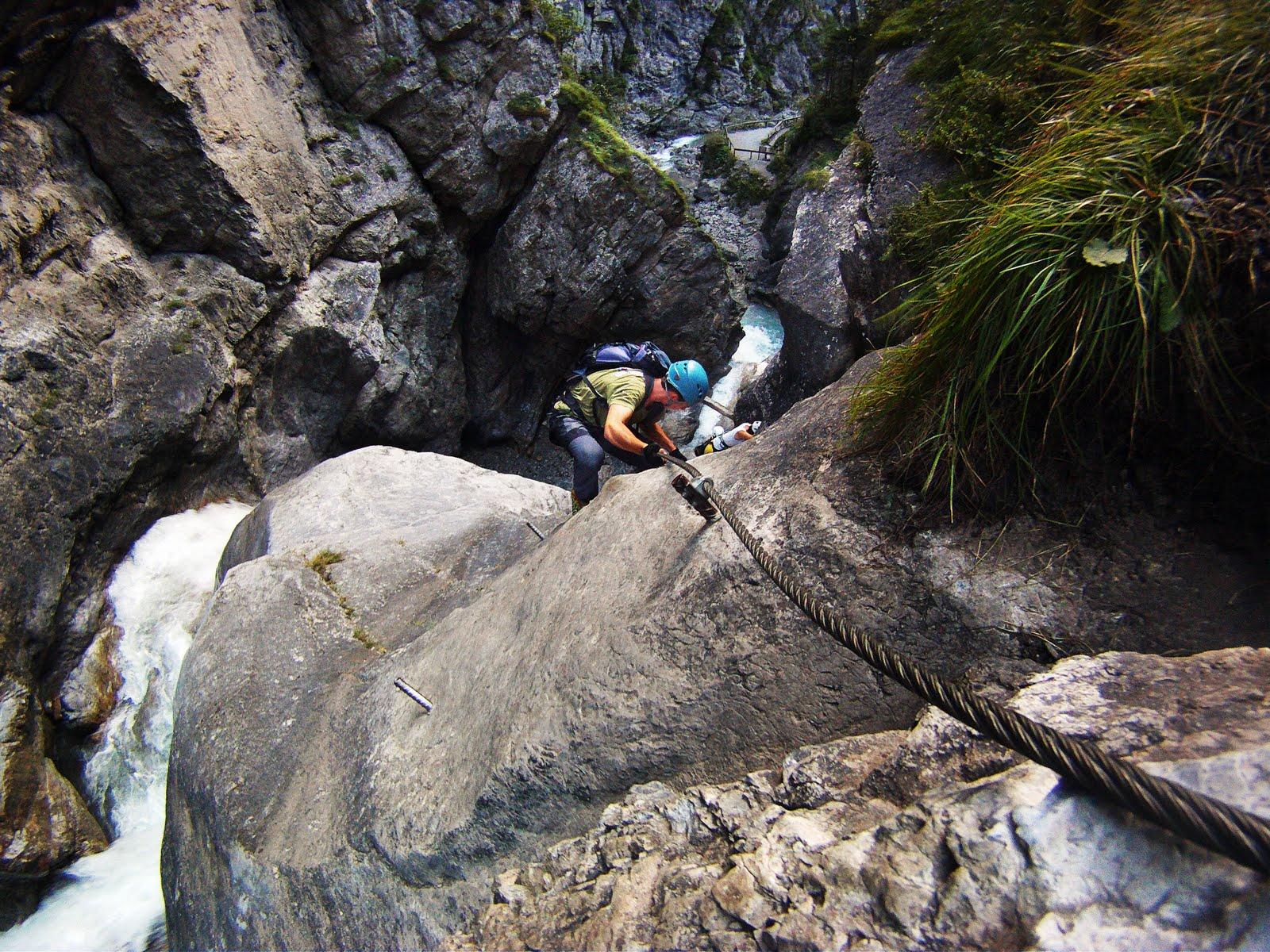 Klettersteig Set Leihen Berchtesgaden : Klettersteig galitzenklamm peter gratl