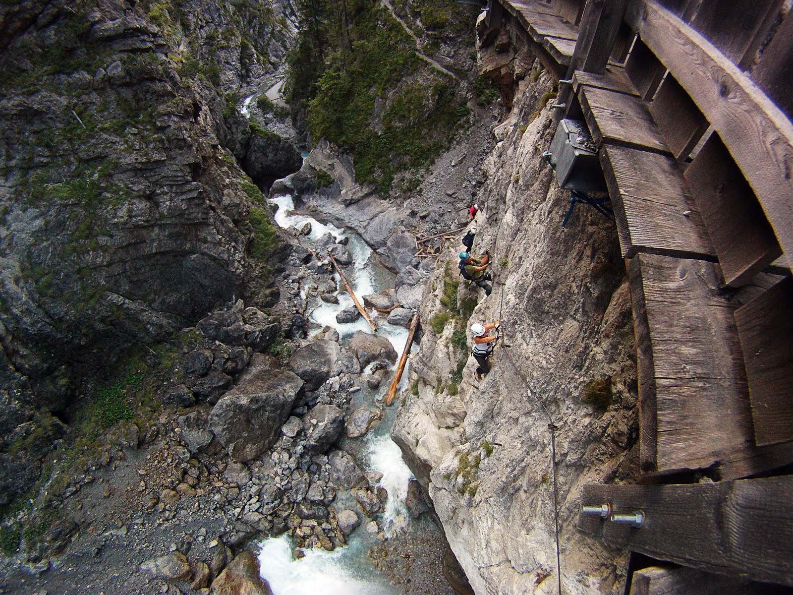 Klettersteig Osttirol : Galitzenklamm in leisach bei lienz osttirol klettersteig peter