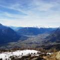 Hike&Fly - Ederplan Blick in den Lienzer Talboden