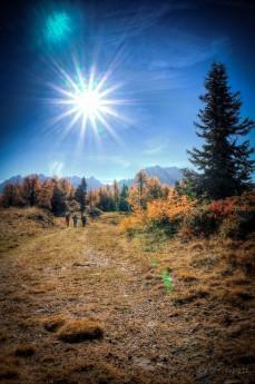 Auf dem Hochstein im Herbst