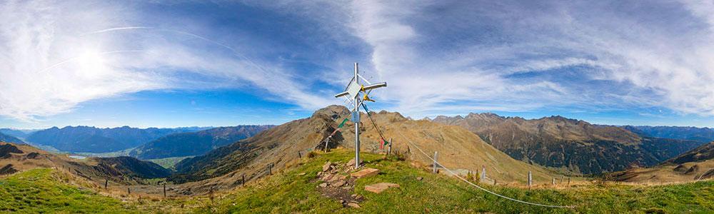 Am Goisele 2433m - 360° Panorama